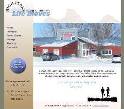 Web Design and Development for High Peaks Physical Therapy